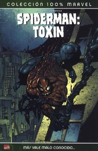 panini - 100% marvel -Spiderman - Toxin